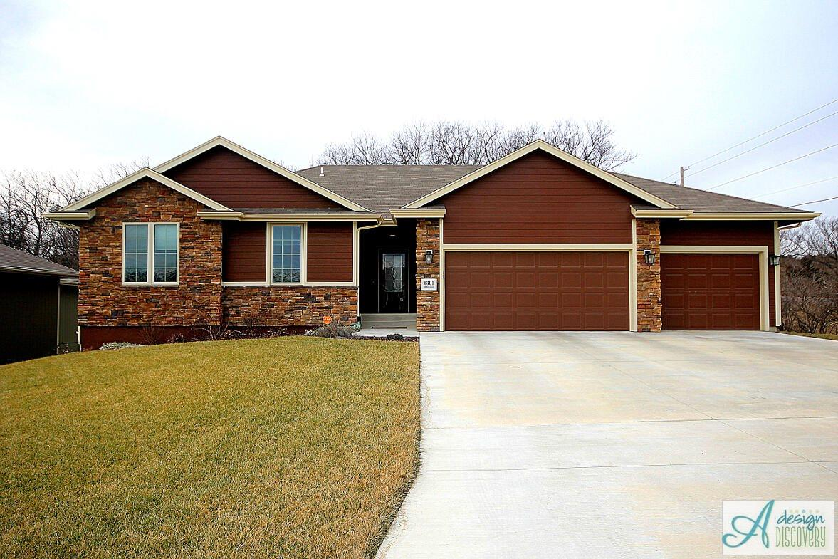 Acacia plan for Topeka home builders