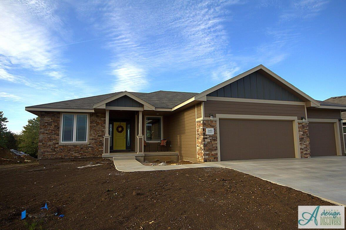 Guinevere plan for Topeka home builders